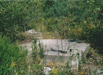#4 U.G. Mine Escape Hole /Man Lift, October 2004.